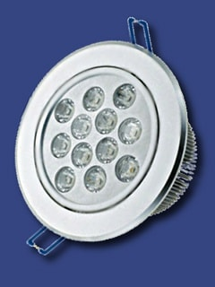 faretto incasso 12W led