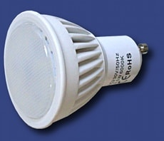 3,5W led gu10 faretto led