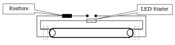 Schema Elettrico Neon Circolare : Istruzioni d uso dei tubi led t e