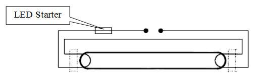 Schema Elettrico Per Tubo Al Neon : Istruzioni montaggio tubi led t e