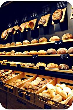 barre led banco prodotti da forno e pane