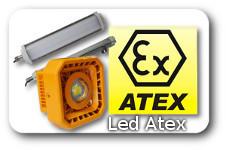 illuminazione led certificata atex