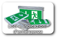 indicatori e luci di emergenza a led