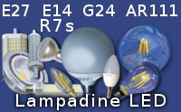 Lampade lampadine faretti illuminazione led vendita online for Lampadine led online